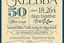 Anniversary party / by Tami Weeks