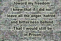 Nelson Mandela / This will catalog some images and quotes by Nelson Mandela / by Prison Culture