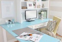 office idea / by Tiffany Gorum