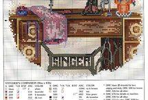 Cross stitch / by Esteme van Zyl