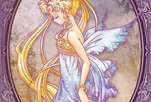 <3 sailor moon / by Janine Gray