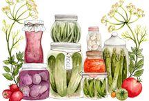 Printables - Food and Edibles por Judy Wilson