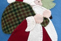 Christmas quilting / by Deborah Zimmers
