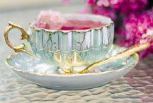 Tea Cup & Tea Pots / by Jan Balestriere