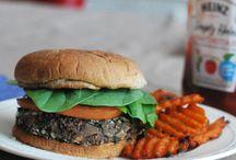 Vegetarian & Vegan / Delicious food and sweet desserts that are all vegetarian or vegan! / by Serena Sanders
