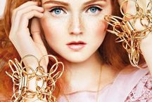 Redheads: Lily Cole / British supermodel and actress Lily Cole. / by Alison Emmert