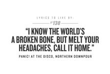 Panic! at the Disco / by Brittany Ham