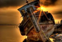 Boats / Old Rusty & Forgotten / by Lexi Sykes