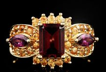 Natural Garnet Fine Jewelry / by The Castle Jewelry Discounters of Diamonds and Fine Jewelry