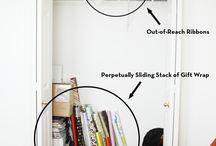 Crafts and Sewing Storage / by Maggie Ceodraiocht