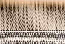 Warp & Weft  / weaving / by Shi W