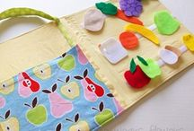 little busy bags, tot trays, quiet books / Busy Bags & Tot Trays are so similar that I'm including both on this board. You can use most activities in either way. / by Emily Kate @ Second Story Window