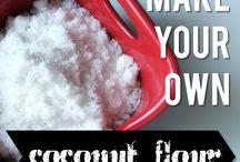 Coconut Flour / by Nomi De Plume