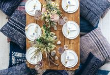 Tablescapes - Entertaining / I love having people over for dinner. Part of the excitement is creating the perfect mood with the perfect tablescape. Follow this board to see some really creative tablescapes sure to wow your guests.  / by Laurie - CEO Customized Walls Founder Interior Design Community