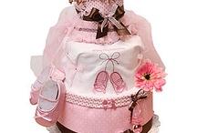 Diapercake ideas / by Faith Hammersley