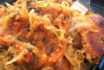 food: Italian/ spaghettis / by Amber Knight