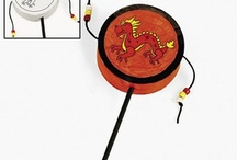 Chinese Drums, Noise Makers / by Asian Ideas