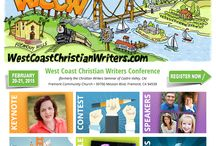 West Coast Christian Writers Conference / 2015 WCCW Conference February 20-21 in Fremont, CA. / by Elizabeth Thompson