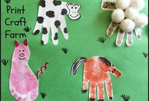 Farm animal crafts / Pre school crafts / by Josephine Carter Durkin