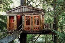 Treehouses/Playhouses / by Janet Smith