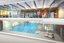 Swimming Pool  / The Moise Safra Community Center will have a swimming pool with four lap lanes, aquatics classes, availability for kids' swimming parties, and much, much more! / by Moise Safra Community Center