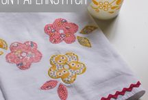 Hobby - Applique Towels / by Marcia Hron