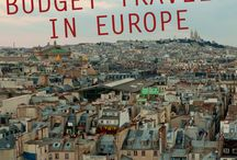 Backpacking across Europe / by Michaela Hartman