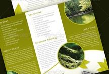 Brochure design / by Katy Tuupanen