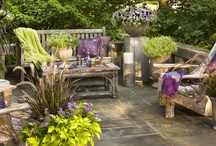 Patios / by Shelly Shuler