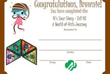 Girl Scout Brownie Ideas / by Gina Butterworth