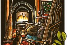 A Wintery Holiday / Christmas, Hanukkah, Yule, New Years celebration things. / by MadElf Creativeworks