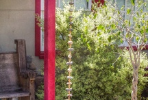 Rain Chains & Waterfalls  / Rain Chains are a beautiful way to enhance your landscaping without an unattractive downspout.  / by Landmark Landscaping