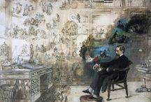 Charles Dickens Mood Board  / by Dolls House Emporium
