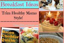 Trim Healthy Mama Breakfast Ideas / by Rachel {BubblyNatureCreations.com}