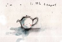 Tea / A collection of everything tea that's pretty or really funny! / by Eva B.