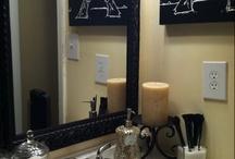 T's bedroom/bathroom / by Brook Blackner