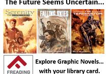 Graphic Novels / Discover Graphic Novels in the Prince George's County Memorial Library System's digital and print collections. / by Prince George's County Memorial Library