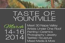 Napa Valley Open Studio Artists at Taste of Yountville / Join us for the Annual  Open Studios Artists at Taste of Yountville Show March 14-16, 2014. Yountville Community Center  6516 Washington Street / by Napa Valley Open Studios