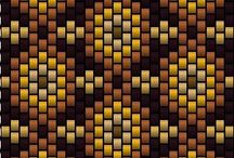 Bead Stitches & Patterns / Bead weaving.  / by Ron-Deedee Anderson