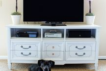 TV stands / by Tracy Godfrey