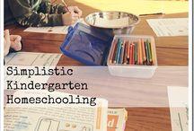 Kindergarten at Home / by The Joyful Homemaker