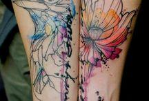 Tatuajes / Espectacular / by Amigurumi Time