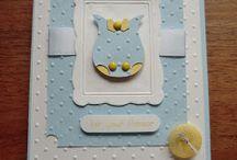 baby/shower cards / by Kathy Dzelzkalns