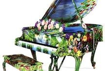 pianos & other musical instruments / by Kathy Ferguson
