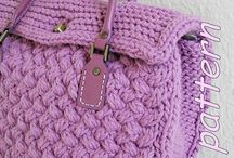 Yarn addiction bags and purses / Woolly bags, clutches, purses, covers ... / by Louisa Higgins