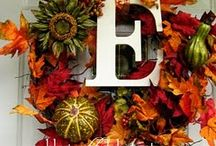 Fall Door Art / by Linda Eastman