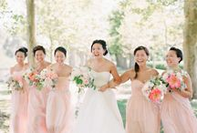Bridesmaid dresses  / by Michelle Mahler