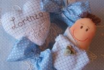#   B   A   B   Y   '  S   # / Decoração,  enfeites de porta maternidade,  babadores  ,mantinhas para bebês, brinquedos etc / by *  CRIS SERRANO  *
