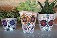 Día de muertos - ideas, crafts & deco / by Gabriela Torres L