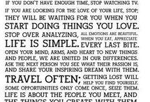 Quotes / by Audrey Grzeskowiak